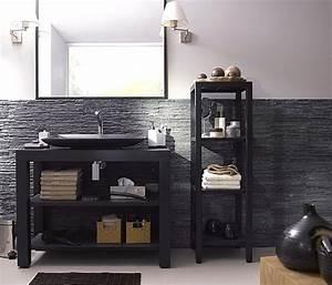 Les rangements de salles de bains galerie photos d for Salle de bain design avec rangement salle de bain castorama