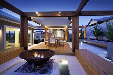 Backyard Architect by Amazing Outdoor Room In Hillarys Peth