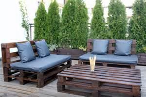 sofa fã r balkon jak zrobić meble z palet