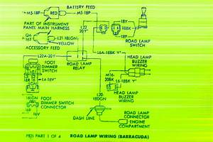 1970 Cuda Road Lamp Wiring Diagram