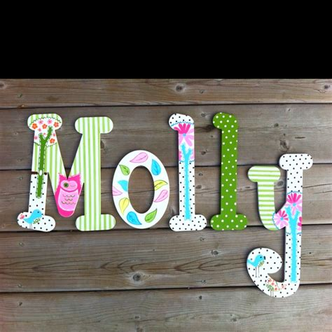 painted wooden letters 1000 images about pintura on wooden wall