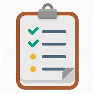 Bullets, clipboard, list, shopping list icon | Icon search ...