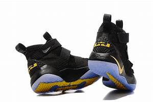 "2017 Nike LeBron Soldier 11 ""Black Gold"" 