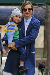 Miranda Kerr cuddles son Flynn Bloom wearing our Stella