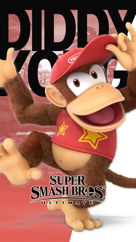 super smash bros ultimate diddy kong wallpapers cat