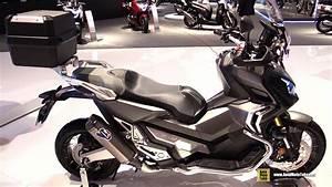Honda 750 Scooter : 2017 honda x adv 750 maxi scooter walkaround 2016 eicma milan youtube ~ Voncanada.com Idées de Décoration