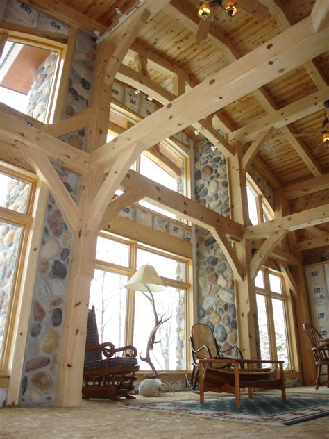 north woods timber frames builder  handcrafted timber