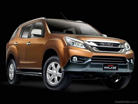 Mux Hd Picture by Isuzu Mu X Car Pictures Images Gaddidekho