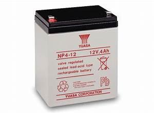 Batterie 12v 4ah : the yuasa np4 12 is a 12v 4ah sealed lead acid battery ~ Medecine-chirurgie-esthetiques.com Avis de Voitures