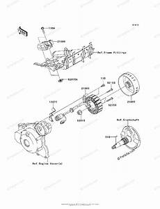 Kawasaki Atv 2008 Oem Parts Diagram For Generator