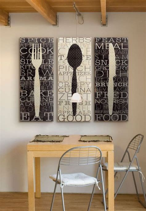 A wall is like a blank canvas just waiting to come alive with color and design. Add some seasoning to your walls with creative, food-themed canvas prints! Find at GreatBI ...