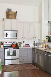 davausnet decoration cuisine jaune orange avec des With idee deco cuisine avec cuisine orange et gris