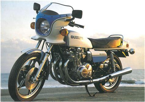 Gs1000s Added To Suzuki's Vintage Parts Programme