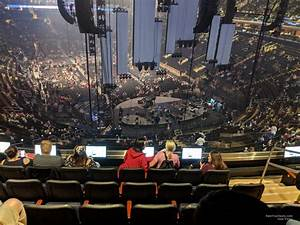 Section 216 At Square Garden For Concerts