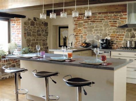 cuisine avec ilot central modele de cuisine avec ilot central
