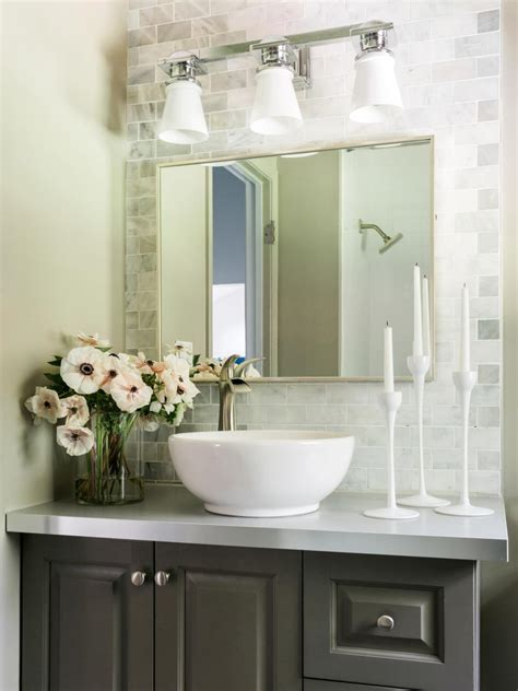 freshen up your powder room for guests hgtv