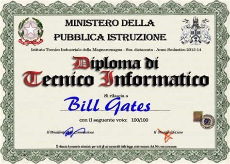 Test Qi Gratis Ufficiale Falsi Diplomi Crea E Sta Finto Diploma Di Maturit 224
