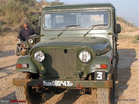 jeep tata tata troop carrier with soft top sa 1212tc 4x4 team bhp