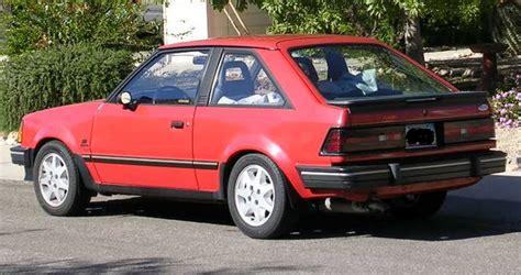 escort gt turbo  exist ford