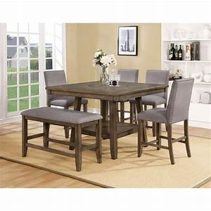 Crown Mark Manning 2731T 4848 Casual Counter Height Table