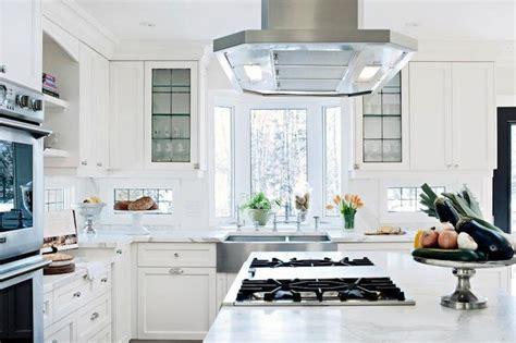 kitchen bay window sink bright bright kitchen with bay window stainless sink