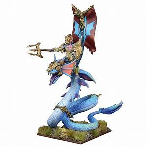 Naiad Wyrmrider Centurion | Mantic Games | Kings of War  Naiad
