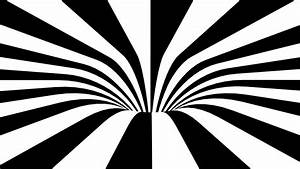 Black and White Abstract Spiral Background