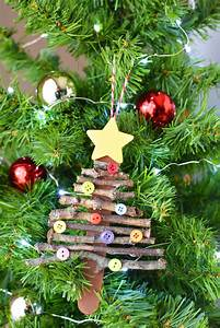 popsicle, stick, christmas, tree, ornament
