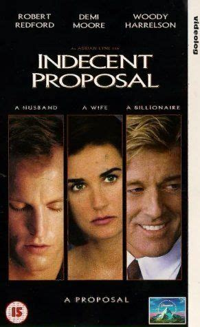 indecent proposal  real life sleep  robert redford