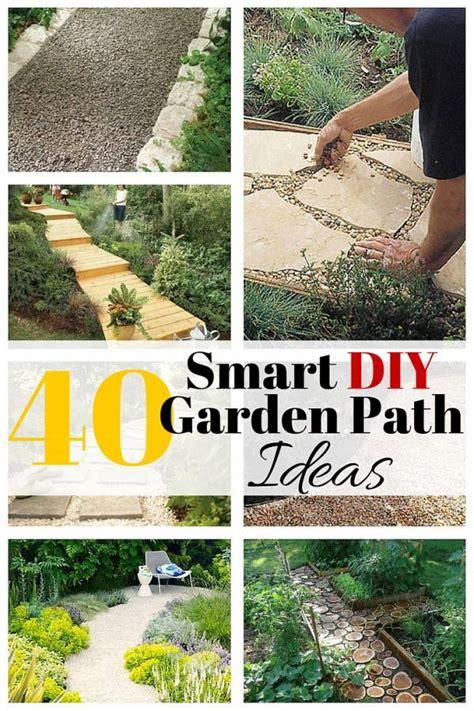 smart diy garden path ideas  budget diet