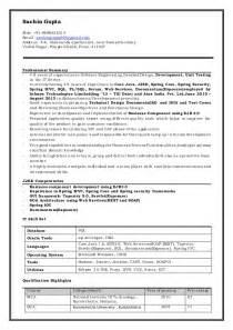 java developer resume summary resume sle sr java developer resume senior developer salary java developer rates senior