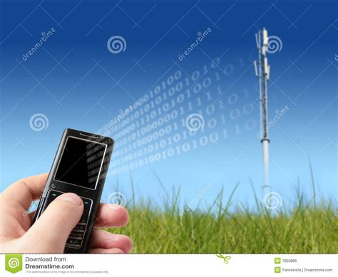 Mobile Communication Stock Image. Image Of Cell, Envelope