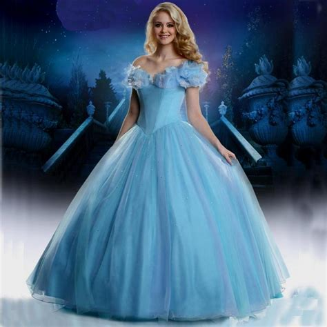 Robe Mariage Sparkly Blue Cinderella Wedding Dress 2017 Strapless   Bridal Bliss