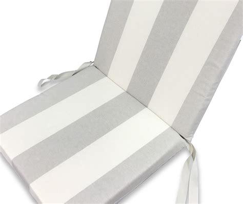 poltrone cuscino cuscino sedia alto per poltrone sdraio sfoderabile cm