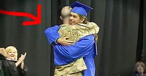 He Walked To Receive His High School Diploma. But Who ...