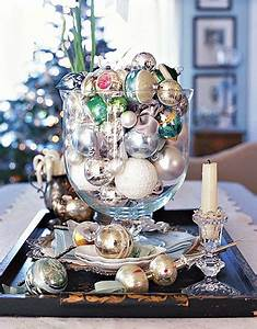 Classic Farmhouse Decorating with Vintage Glass Ornaments