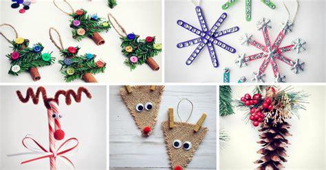 easy  minute diy christmas crafts homelovr