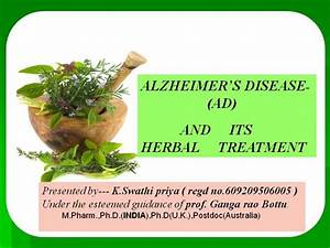 Alzheimer's Disease And Its Herbal Treatment |authorSTREAM