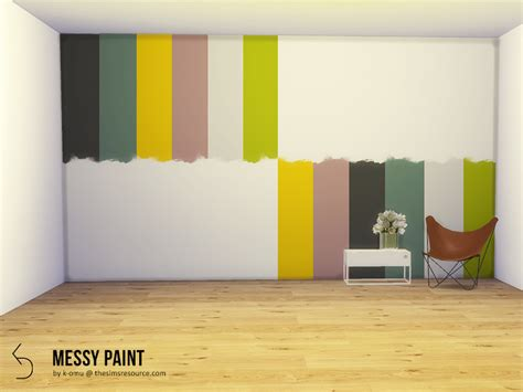 omus messy wall paint