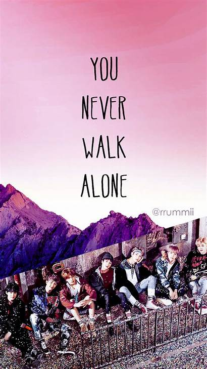 Bts Ynwa Wallpapers Alone Walk Never Deviantart