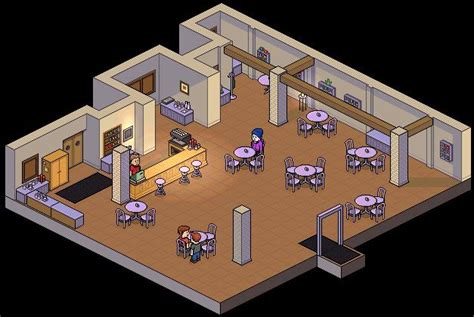 Basement Area by Habbohotelrooms