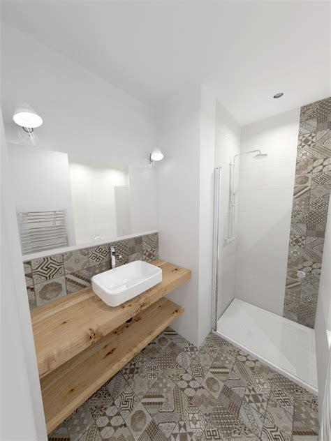 salle de bain carreau de ciment home design architecture cilif