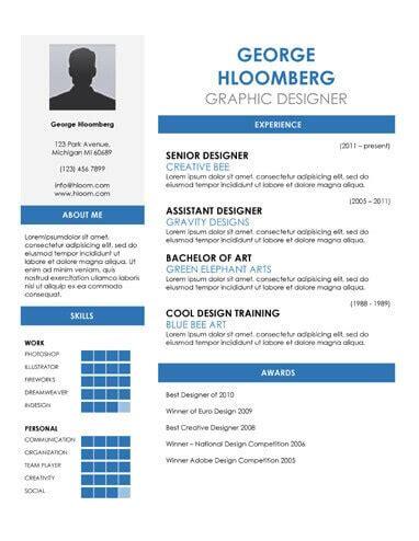 Resume file type