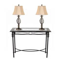 homestyle collection console table with l set reviews