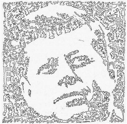Coloring Adults Pierre Single Line Emmanuel Doodle