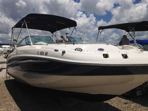 Hurricane Sundeck Used Boats by 2008 Used Hurricane Sundeck 24 Deck Boat For Sale