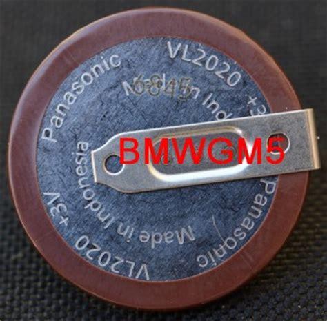 bmw key battery vl2020 panasonic vl2020 battery for bmw e46 e60 e90 key fobs ebay