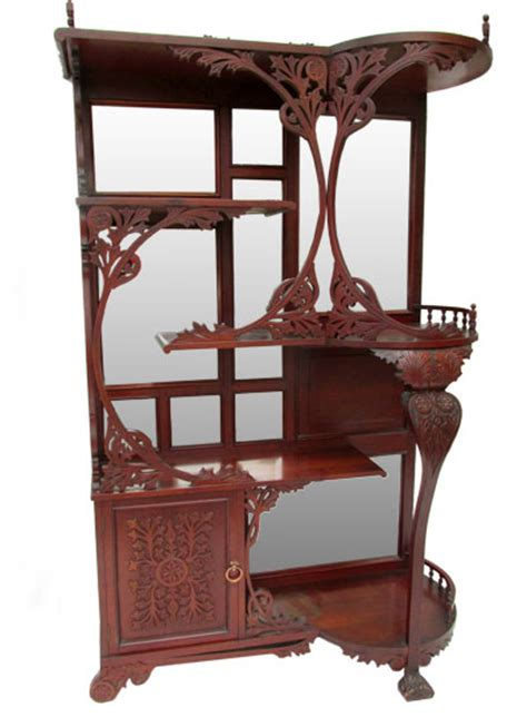 Cherry Etagere by Cherry Etagere Wooden Nickel Antiques