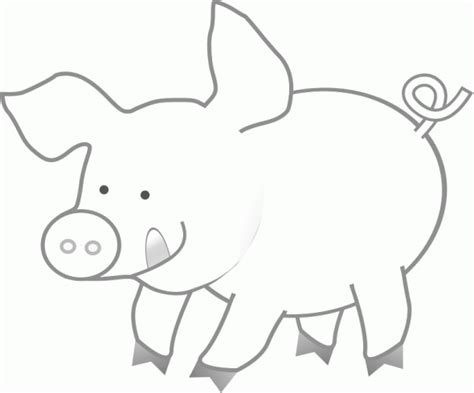 Pig Template For Preschoolers by Pig Printable Free Coloring Pages On Coloring Pages