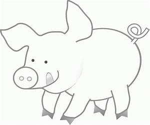 Pig printable free coloring pages on art coloring pages for Pig template for preschoolers